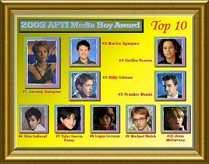 2003 AFTI Media Boy Poll Top 10