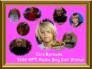 Cole Sprouse First Place Award