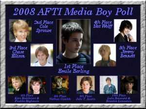 2008 AFTI Media Boy Poll Top 10